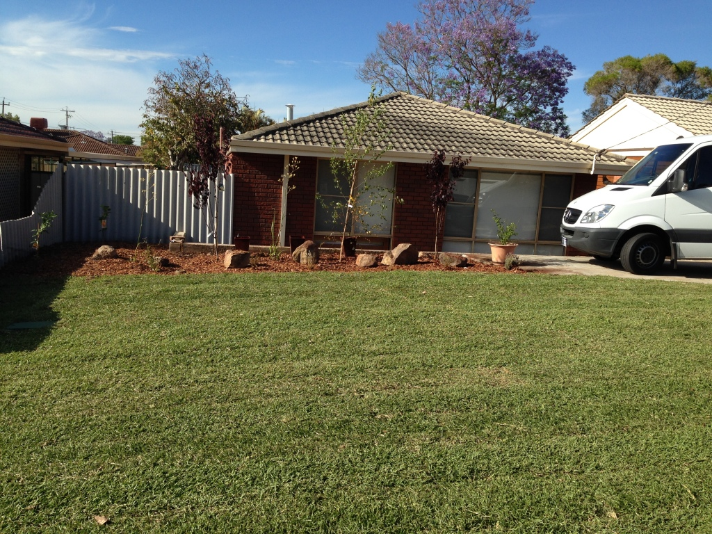 Finished product Glenrowan Place Willetton